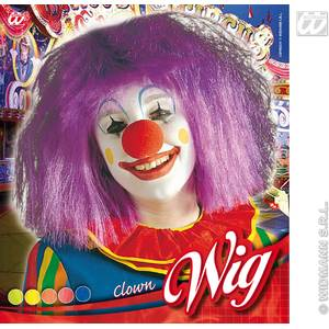 Widmann Peruca Clown Girl - model la alegere