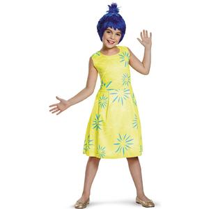 Costum Disney Inside-Out Joy Clasic 7-8 ani