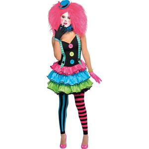 Amscan Costum Clown Girl 10-12 Ani