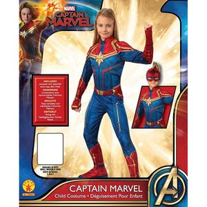 Rubie's Costum Captain Marvel