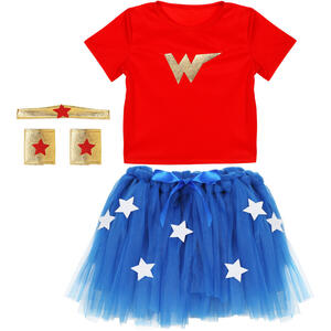 Widmann Costum Wonder Girl 4-5 Ani